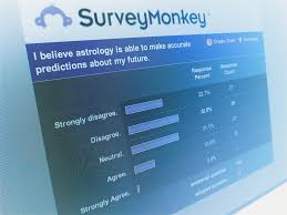Survey Monkey survey screen