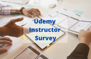 Udemy Instructor Survey